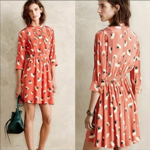 Anthropologie: Petite Poppy Field Dress